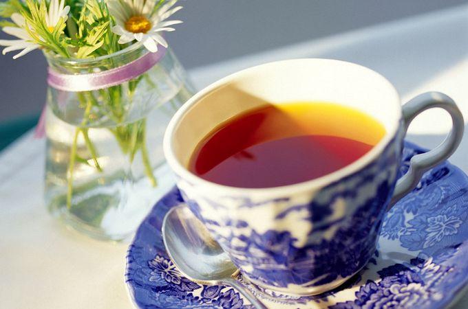 черный чай и красота