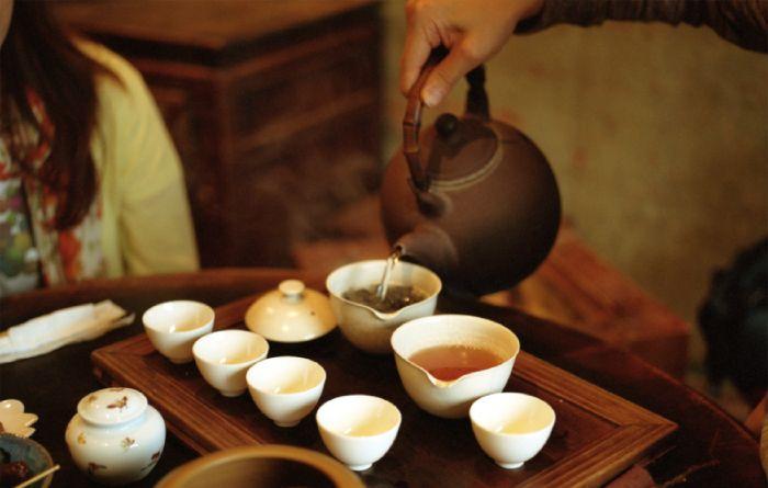Что пьют к чаю в китае