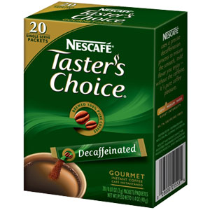 Tasters Choice от Nescafe