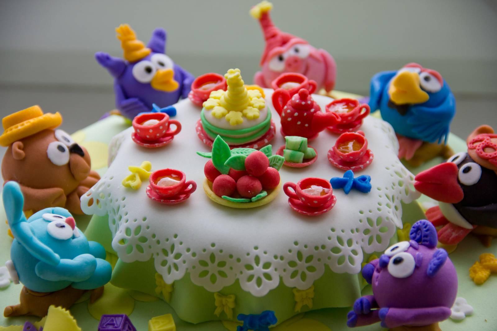 Рисунки тортов и пирожных