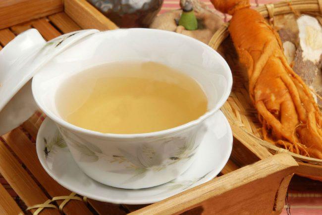 Чай с женьшенем: польза и вред