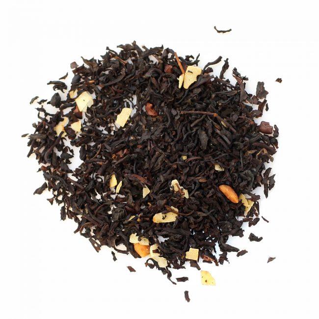 Черные трюфельные чаи и конфеты с чаем