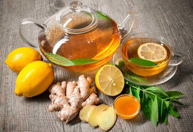 Добавки к имбирному чаю