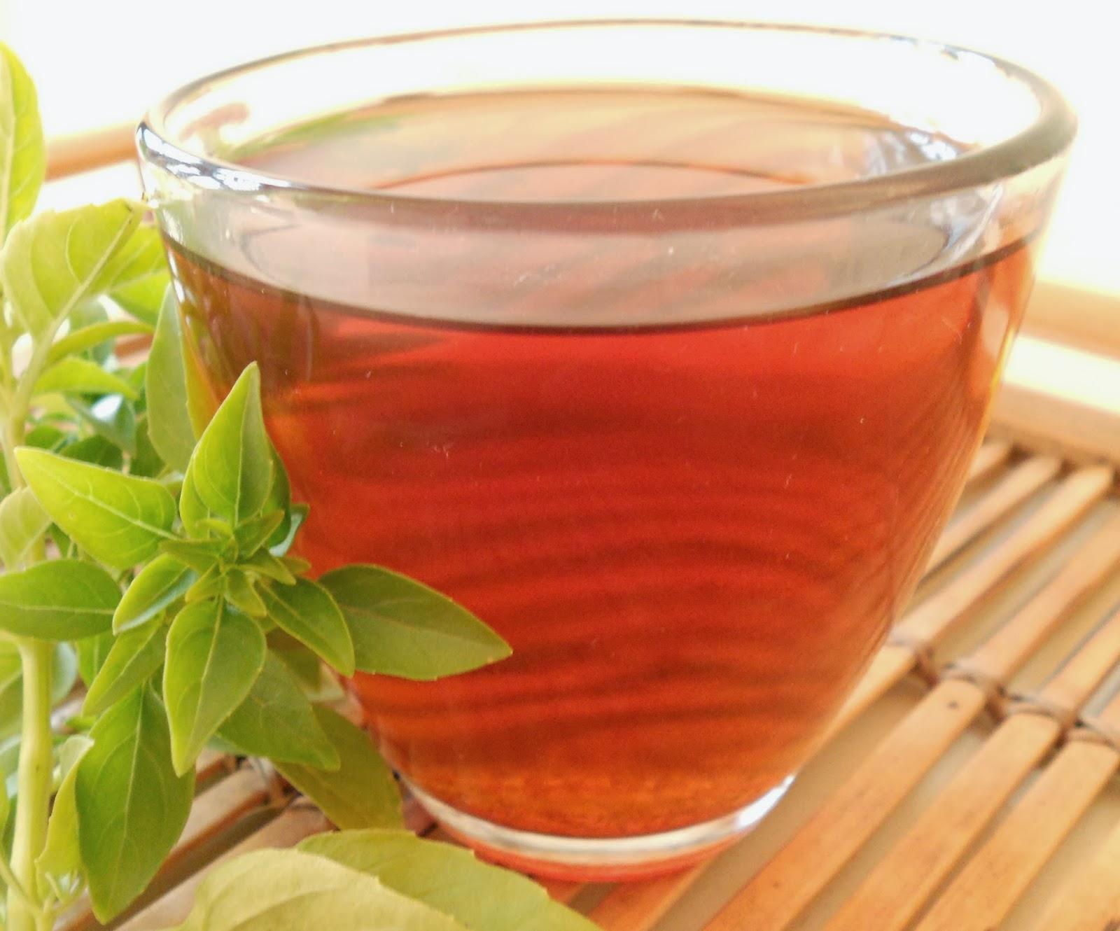 Чай и базилика