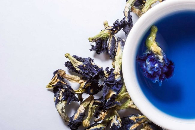 синий чай как правильно заваривать