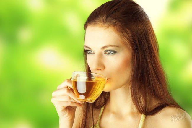 Зеленый чай при экземе, язве желудка и цистите