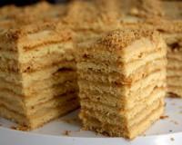 Торт с творожным кремом «Диво дивное»