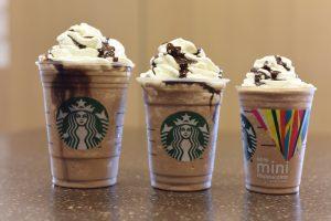 Кофе фраппучино из сети кофеен StarBucks