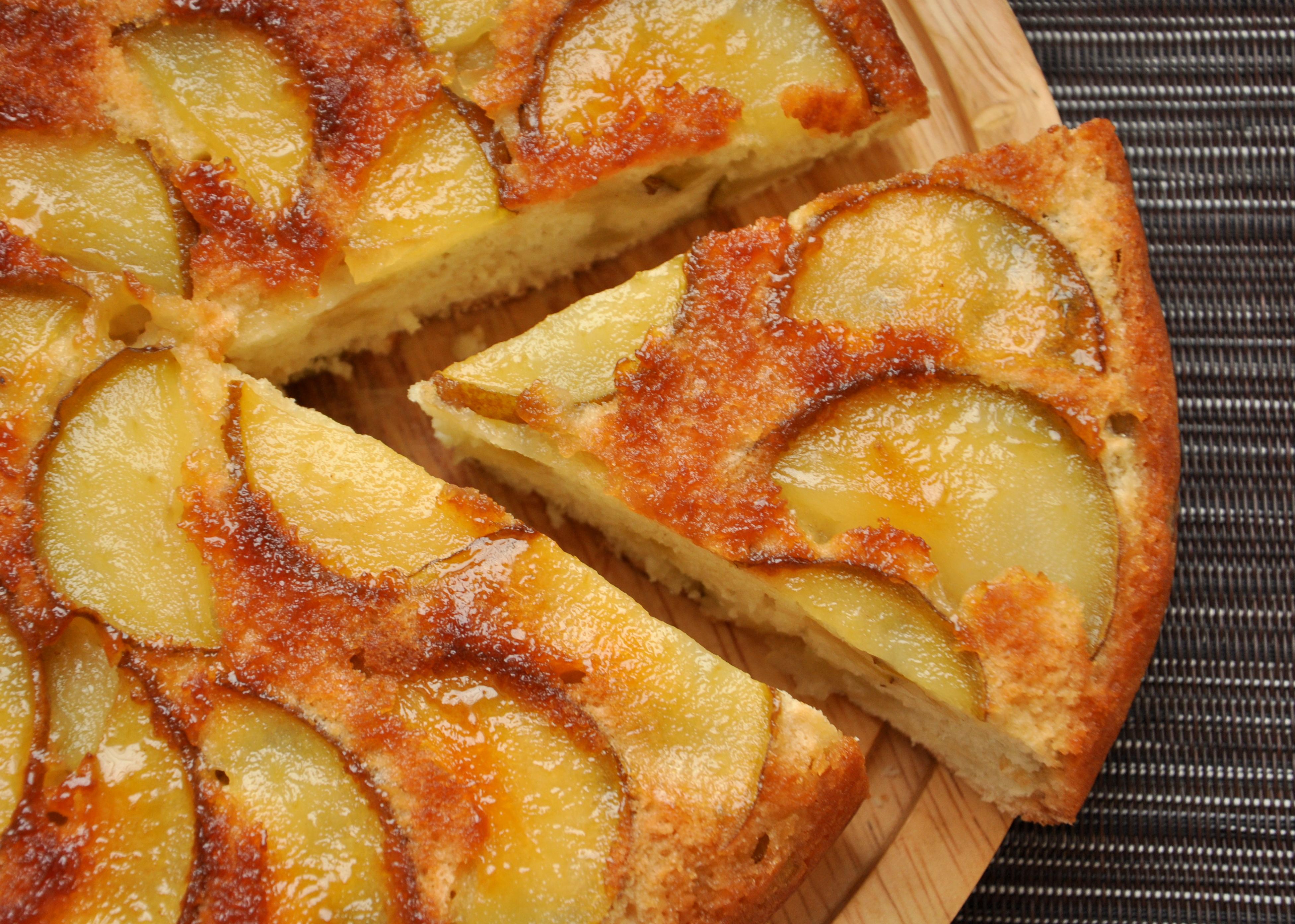 Песочный пирог с грушей рецепты самый простой в приготовлении