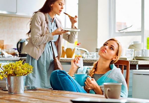 Чай до и после еды: польза и вред