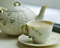Зеленый чай с молоком: польза и вред