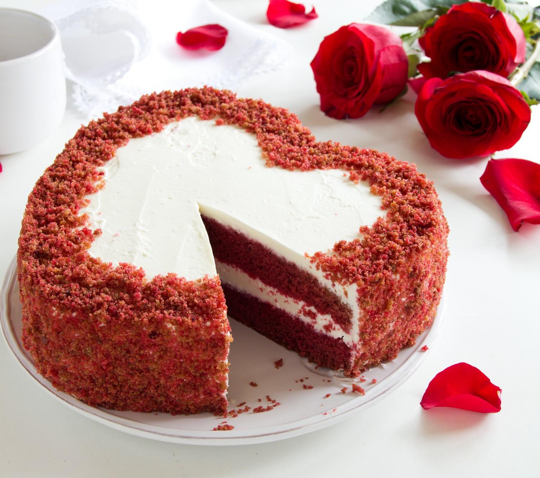 Торт Красный Бархат - рецепт