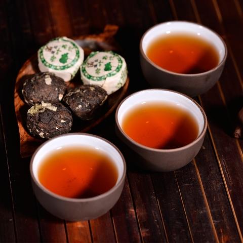 От похмелья чай Пуэр
