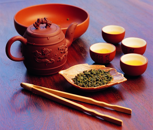 Бирюзовый чай улун