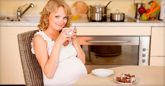 Чай с молоком для беременных