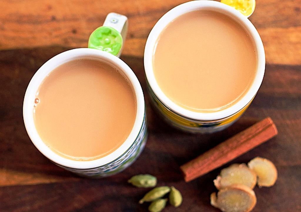 Рецепты чая с молоком