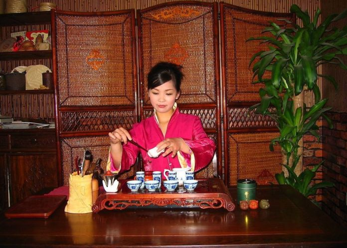 Чайная посуда для церемонии