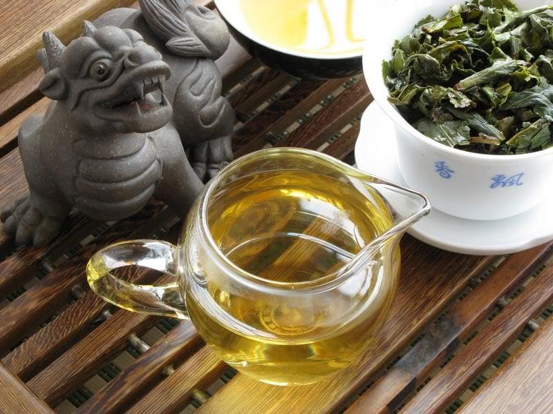 Молочный улун Най Сян Цзинь Сюань (Огненный Цветок)
