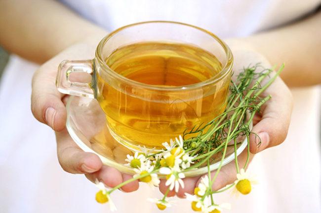 Травяной чай при изжоге, метеоризме, тошноте