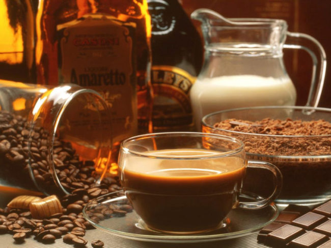 Как правильно приготовить кофе с коньяком и молоком
