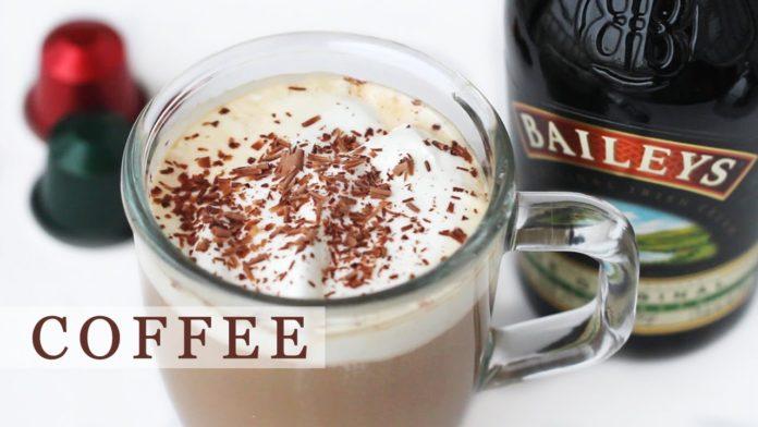рецепты кофе с ликёром