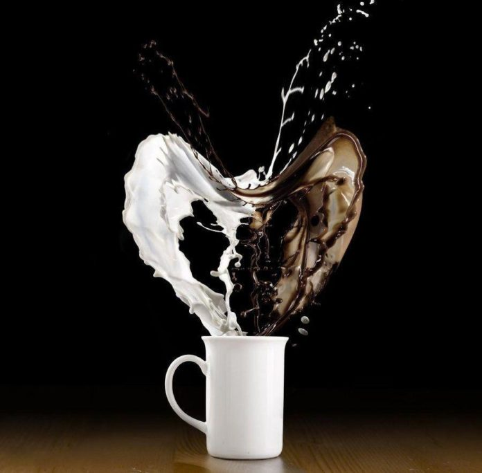 Рецепт кофе с виски и молоком