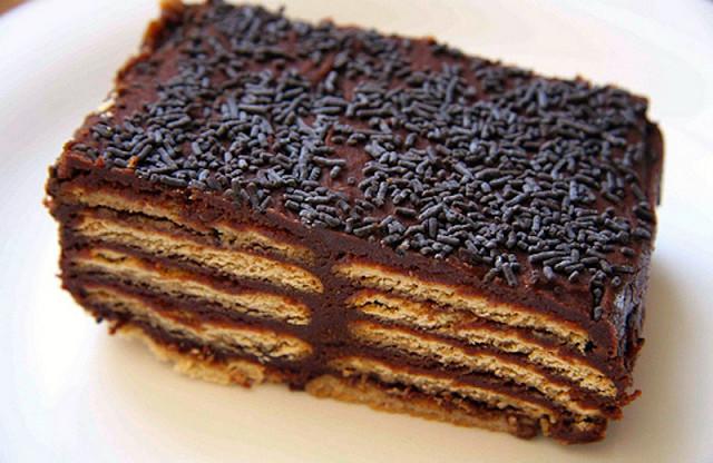 Рецепт. Кофейный торт без выпечки