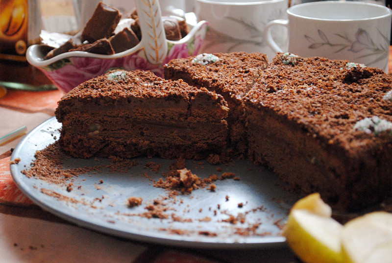 Рецепт. Кофейный торт