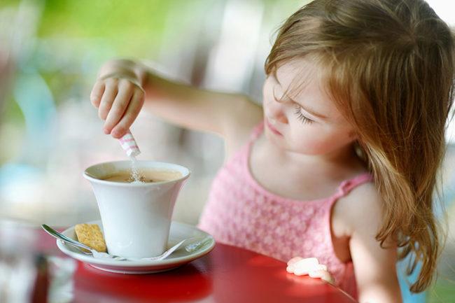 Влияние кофеина и кофе на ребёнка