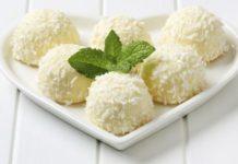 """рецепт десерта """"банановые шарики"""" в кокосовой стружке"""