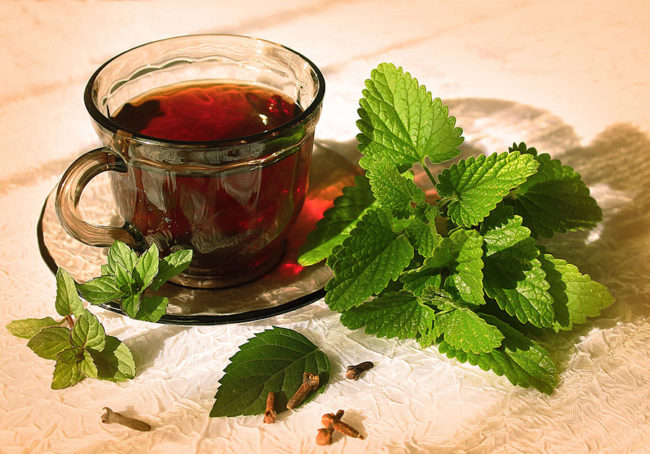 мятный чай для повышения лактации