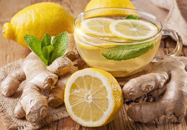 чай с имбирём и яблоком для похудения: рецепт