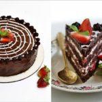 шоколадный торт с клубникой - весенний рецепт десерта