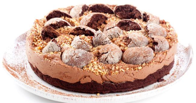 изысканный десерт: шоколадный торт с кремом из маскарпоне - рецепт