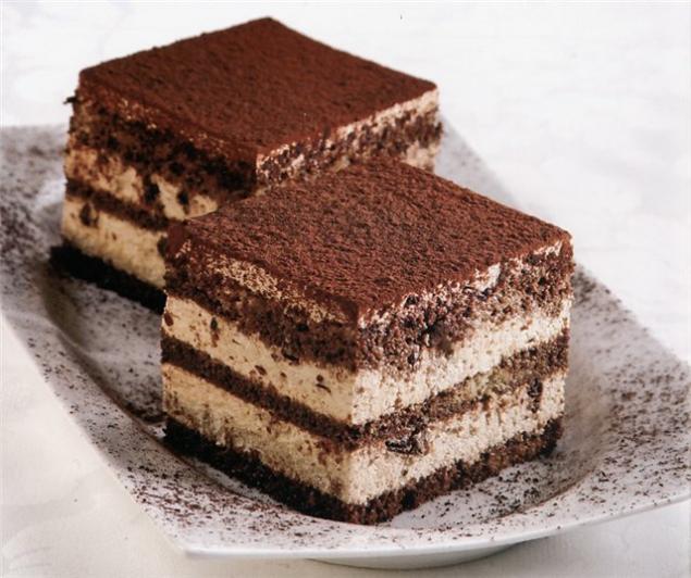 итальянский десерт - кофейно-шоколадный