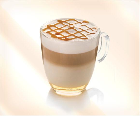 карамельный кофе с корицей