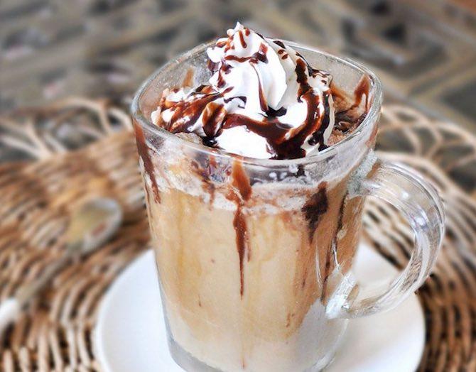 кофе мокко в облаке - рецепт