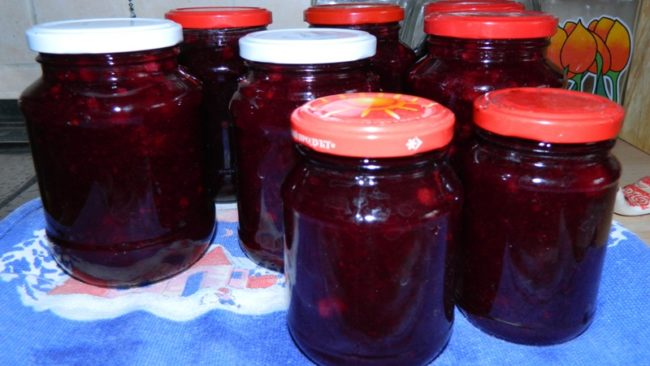 традиционный рецепт джема из красной смородины