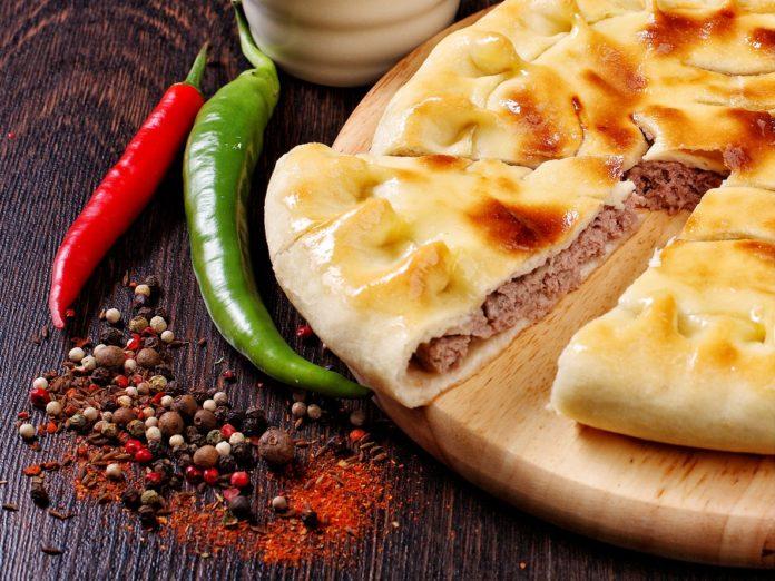 осетинский мясной пирог