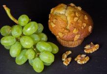 рецепты кексов с виноградом