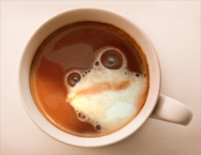 кофе с молоком: калорийность
