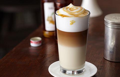 ореховый кофе эспрессо
