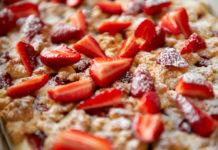 пирог с клубникой - рецепты