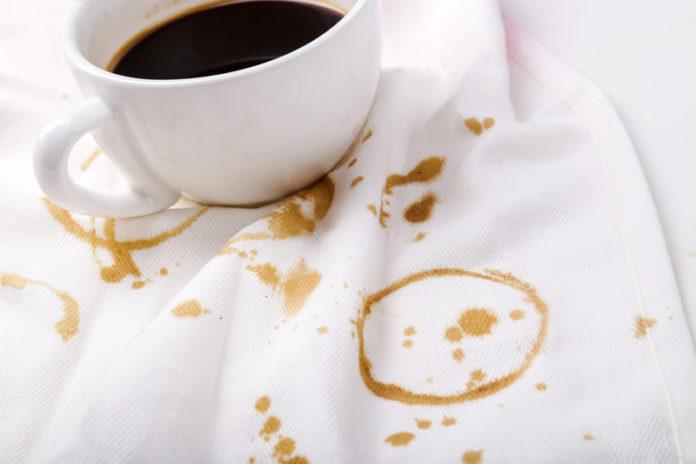 как вывести пятно от кофе - различные способы