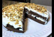торт в микроволновке за 15 минут - рецепт