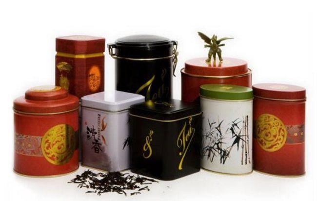 баночки для хранения чая