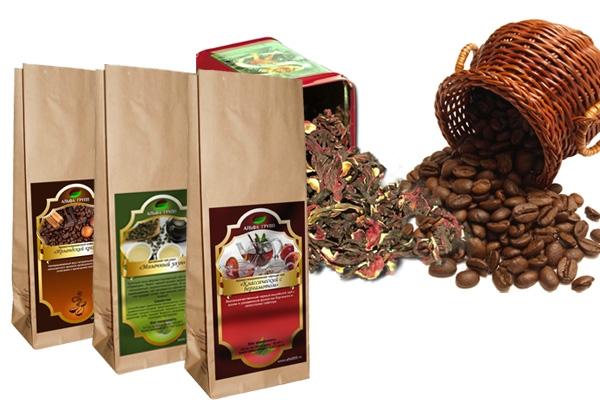 фольгированные пакеты для чая и кофе