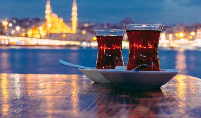 как подавать турецкий чай