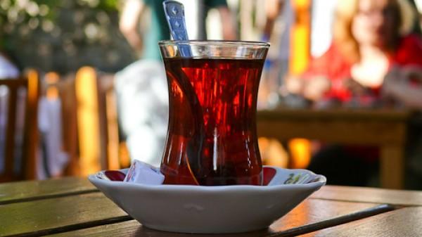 турецкий чай Султан - вкус напитка