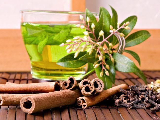 зелёный чай с корицей для похудения